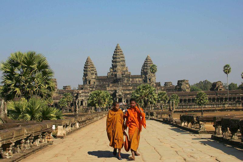 Cambodge-temple