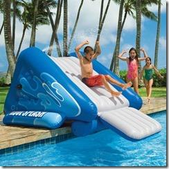toboggan gonflabe pour piscine