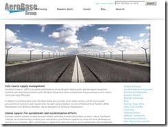 Site AeroBase Group est un top 20 pour les pièces d'aéronefs