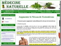 Comment faire pour augmenter la testostérone naturellement