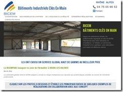 cherchez à bâtir un édifice industriel