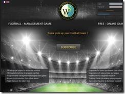 Venez tester ce nouveau jeu de foot gratuit de gestion