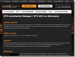 BTS Assistant Manager en Alternance